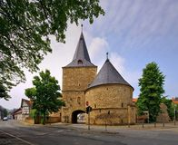 Goslar-Stadtmauer Stockbilder