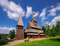 Goslar stave church Stock Photography