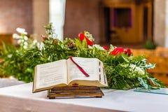 Gospel book royalty free stock photos