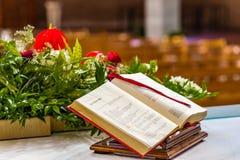 Gospel book royalty free stock photography