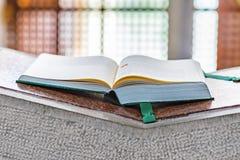 Gospel book stock photos