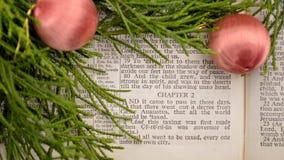 Gospel de Luke, história do Natal Imagem de Stock Royalty Free
