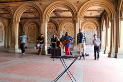 Gospel Music Band, Central park, New York city, USA Stock Image