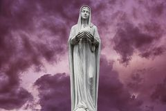 Virgin Mary, mother of Jesus Stock Images
