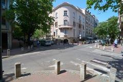 Gospodar Jevremova街道 免版税库存照片