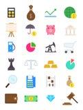 Gospodarek ikony ustawiać ilustracji