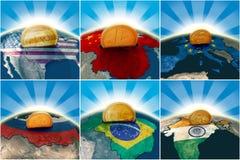 gospodarka świat royalty ilustracja