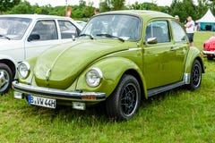 Gospodarka samochodowy Volkswagen Beetle, 1975 Zdjęcie Royalty Free