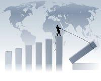 gospodarka świat Zdjęcia Stock