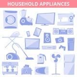 Gospodarstw domowych elektryczni urządzenia ilustracji