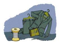 Gospodarstw domowych oszczędzania, humor ilustracja wektor