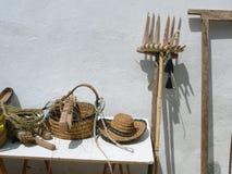 Gospodarstw rolnych narzędzia Zdjęcie Royalty Free