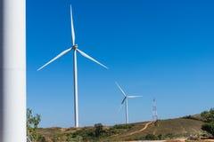 4 gospodarstw rolnych wiatr Zdjęcie Royalty Free