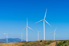 5 gospodarstw rolnych wiatr Obraz Stock