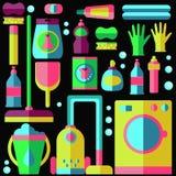 Gospodarstwa domowego pralniany cleaning Zdjęcie Stock