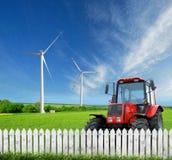 Gospodarstwo rolne. zdjęcie royalty free