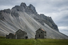 Gospodarstwo rolne ruiny Obrazy Royalty Free