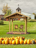 Gospodarstwo rolne w jesieni Zdjęcie Stock