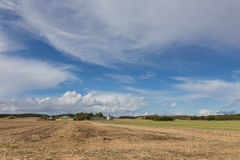 Gospodarstwo rolne w Tryggelev Zdjęcie Royalty Free