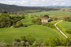 Gospodarstwo rolne w wzgórzu Zdjęcia Stock