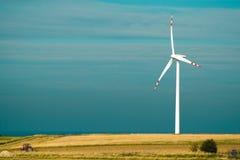 gospodarstwo rolne wiatr jeden obraz royalty free