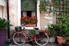 Gospodyni domowa rower Zdjęcie Stock