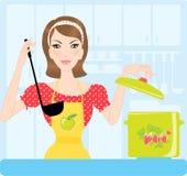 gospodyni domowej kuchnia Zdjęcia Stock