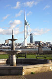 Gosport waterfront Royalty Free Stock Image