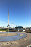Gosport waterfront sundial Stock Image