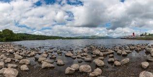 Gosposia Loch na Loch Lomond przy Balloch Zachodni Dunbartonshire S Zdjęcie Stock