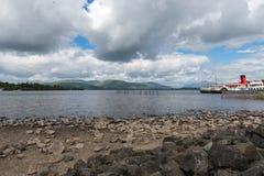 Gosposia Loch na Loch Lomond przy Balloch Zachodni Dunbartonshire S Zdjęcie Royalty Free