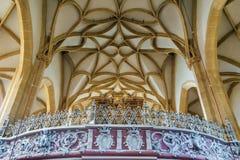 Goss abbotskloster, Leoben, Österrike Royaltyfria Foton