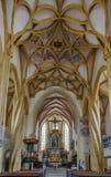 Goss abbotskloster, Leoben, Österrike Arkivfoto