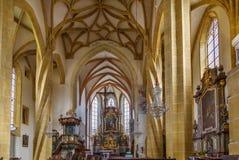 Goss abbotskloster, Leoben, Österrike Arkivbilder
