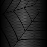 Gossamer structures metallic hexagon background,  Royalty Free Stock Image