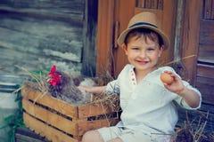 Gosse adorable Image libre de droits