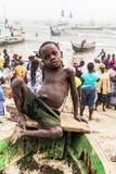 Gosse africain Image stock