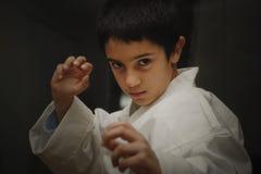 Gosse d'Aikido Photos libres de droits