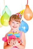 Gosse d'anniversaire photos libres de droits