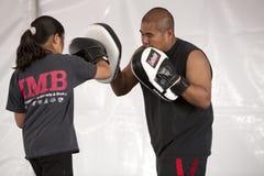 Gosse de boxe d'IMB images stock
