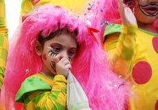 Gosse de carnaval Photos libres de droits