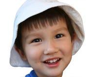 Gosse de sourire Images stock
