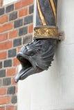 Gosse am Eingang Blois-Schloss Stockfotos