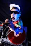 Gosse frais DJ Image libre de droits