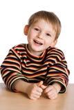 Gosse heureux Photographie stock libre de droits