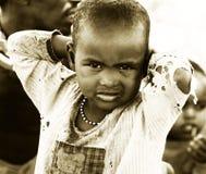 Gosses africains Photographie stock libre de droits