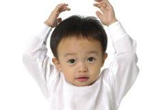 Gosses asiatiques mignons Photos libres de droits