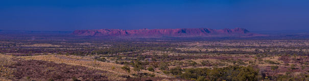Gosses Bluff Royalty Free Stock Images
