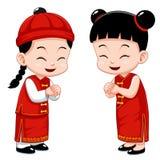 Gosses chinois   Photographie stock