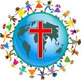 Gosses chrétiens Image libre de droits